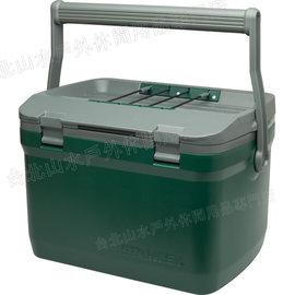 Stanley 保溫冰桶/野餐籃 15L 可攜水壺/便當/做椅子 Adventure Cooler 01623 綠/台北山水