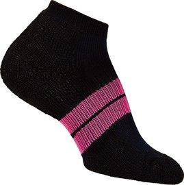 [ Thorlos ] 84N 跑步襪/路跑專用襪 舒適吸震加厚 84NRCW 女款 181黑/桃紅