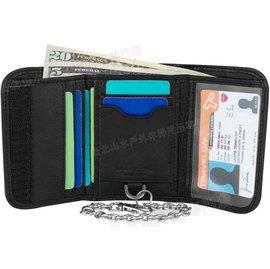 TRAVELON 旅遊防盜錢包/RFID三摺防盜錢包/旅行皮夾/出國 SafeID Accent Wallet TL-82868