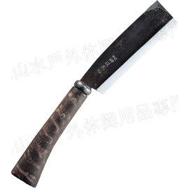 [ UNIFLAME ] 鍛造開山刀/越後刃物-手工柴刀 大 684115 日本製