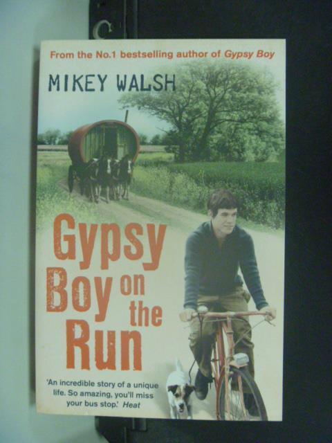 【書寶二手書T1/原文小說_KEN】Buy Gypsy Boy on the Run_Mikey Walsh