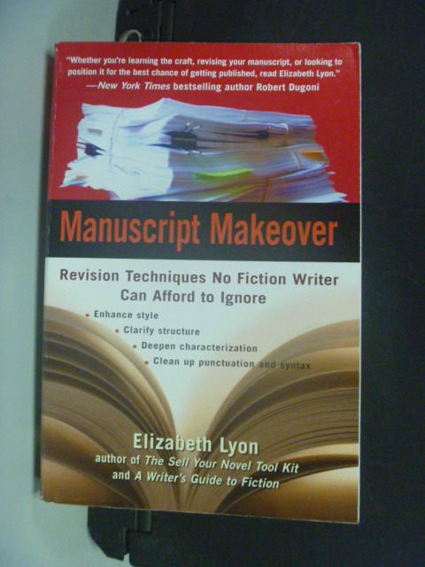 【書寶二手書T3/大學文學_KJR】Manuscript Makeover_Elizabeth