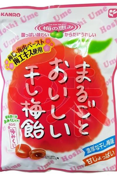 (日本) KANRO 甘樂甘梅飴 80公克 80元 【4901351014721】(干梅飴)
