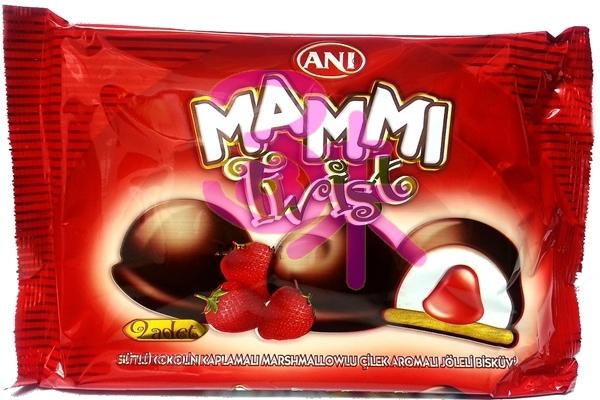 濃情草莓棉花糖巧克力派 135公克 35元 【8691720060164】