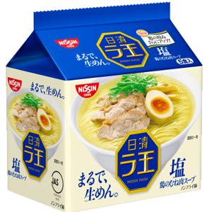 ★即期促銷賣場★日本進口 日清拉王 生麵系列(整袋5包入) 快煮麵 泡麵 [JP369]