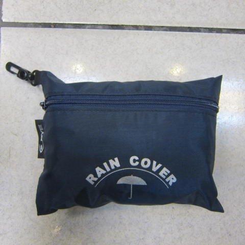 ~雪黛屋~EYE 背包防水雨衣罩行李箱雨衣罩輕便帶好收納可伸縮固定環釦MIT製造品質EYE998L深藍