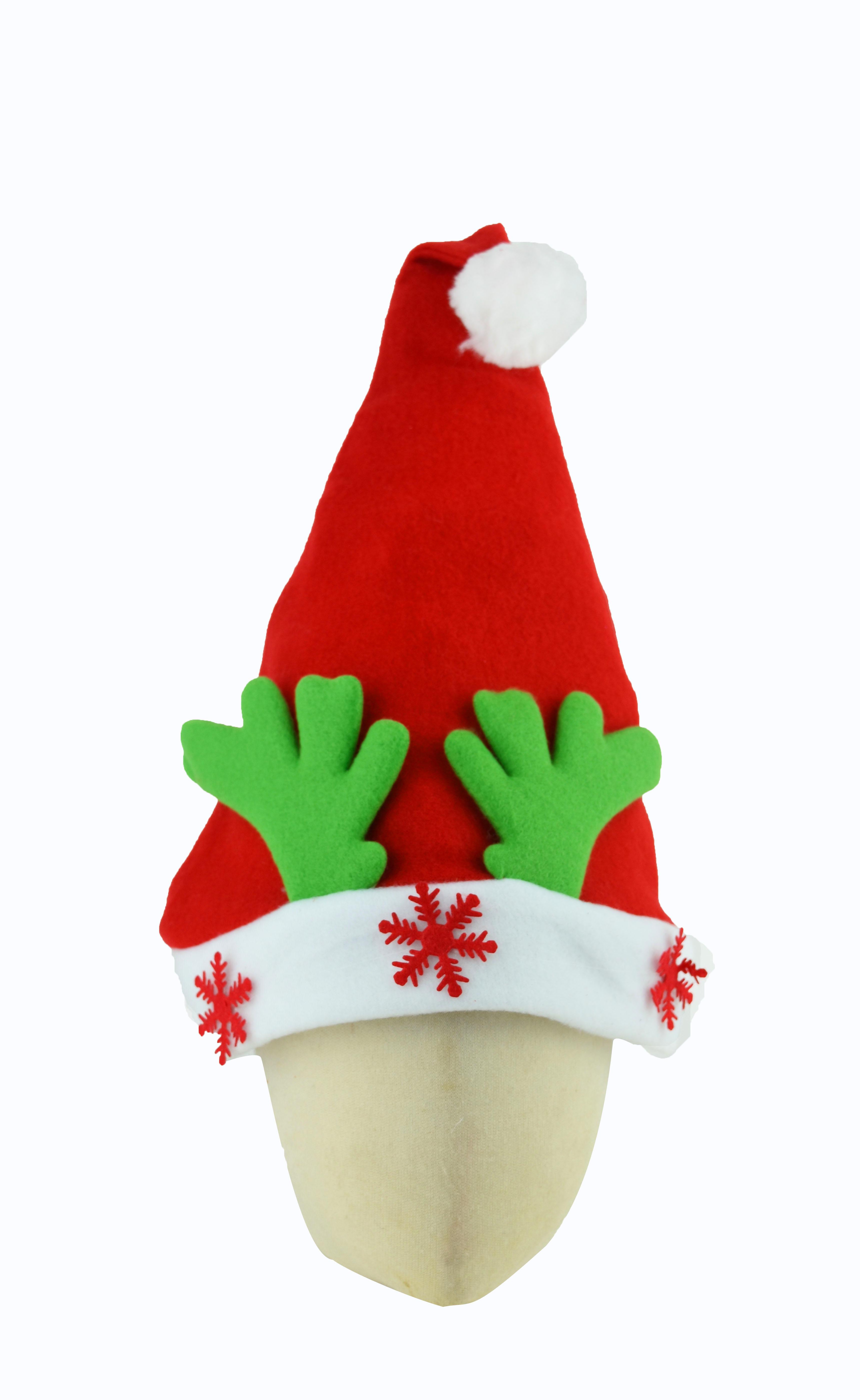 X射線【X294068】鹿角雪花裝飾聖誕帽,聖誕節/派對用品/舞會道具/cosplay/角色扮演/麋鹿/表演/情趣/園遊會/校慶