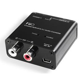 志達電子 D3 FiiO D3/D03K 光纖/同軸數位類比轉換器 DAC (同軸/光纖轉RCA立體聲)