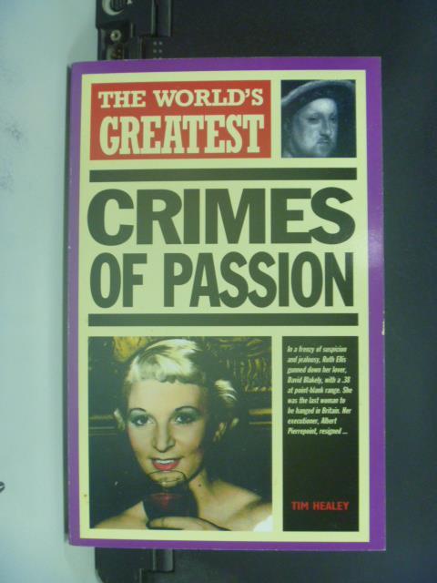 【書寶二手書T3/原文書_GEP】The World's Greatest Crimes of Passion