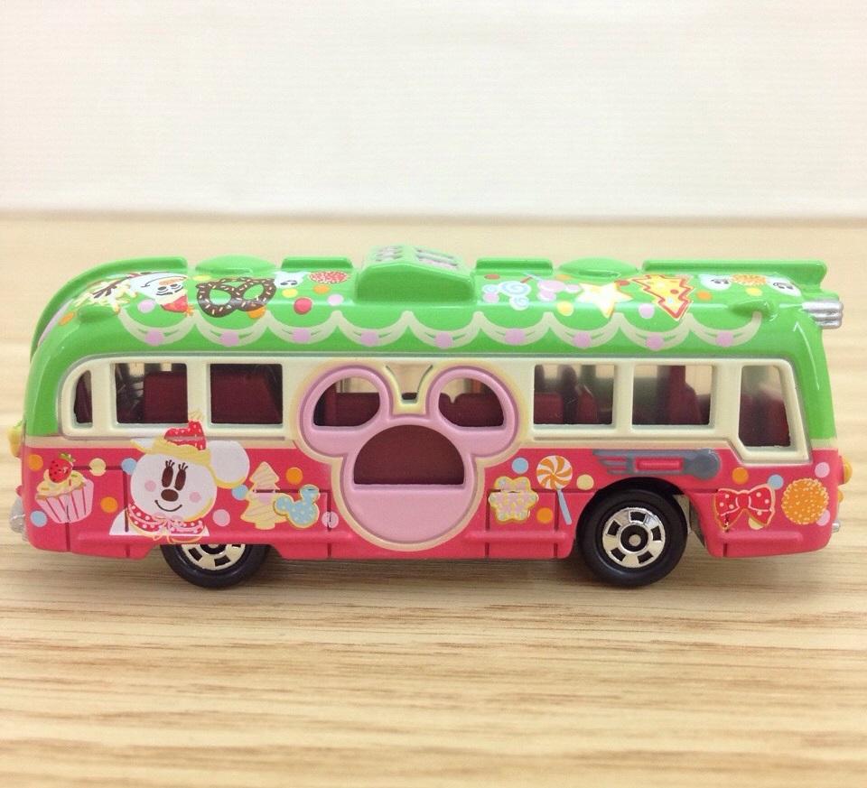 【真愛日本】15111400038 DN樂園小車-15聖誕渡假村巡洋艦 迪士尼 米老鼠米奇 米妮