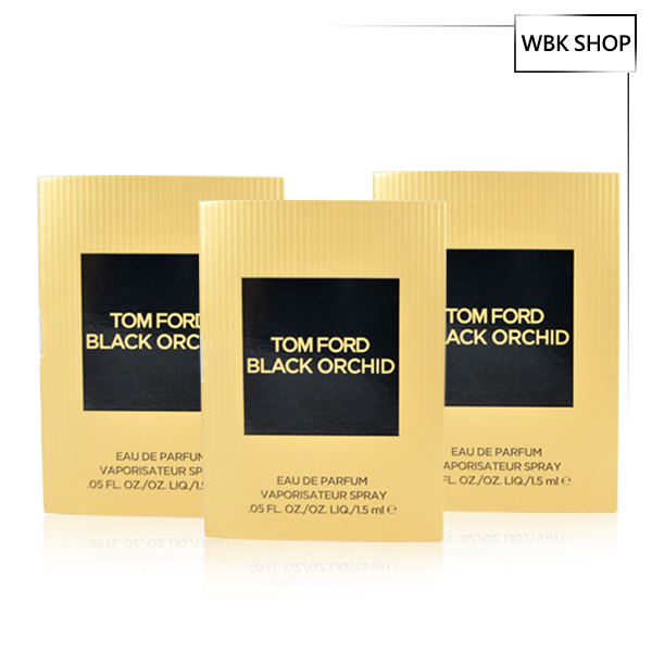 【限定免運】TOM FORD 黑蘭花淡香精 3入組 1.5ml*3 Black Orchard EDP- WBK SHOP