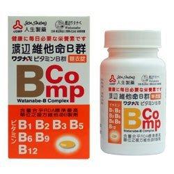 人生製藥 渡邊維他命B群糖衣錠 120粒/瓶◆德瑞健康家◆【DR92】