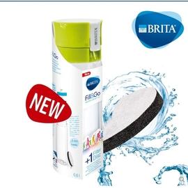 德國 BRITA Fill&Go 0.6L 隨身濾水瓶 濾水壺 內贈專用提帶綠色現貨供應629元