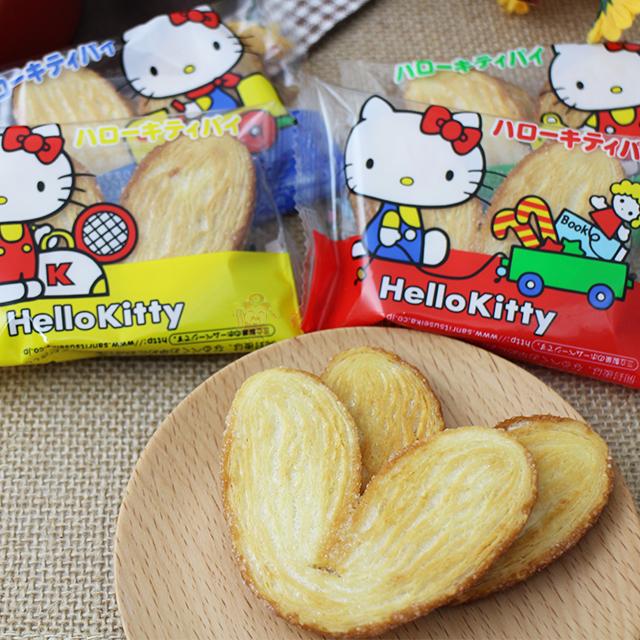 【0216零食會社】日本三立Kitty派(單包)
