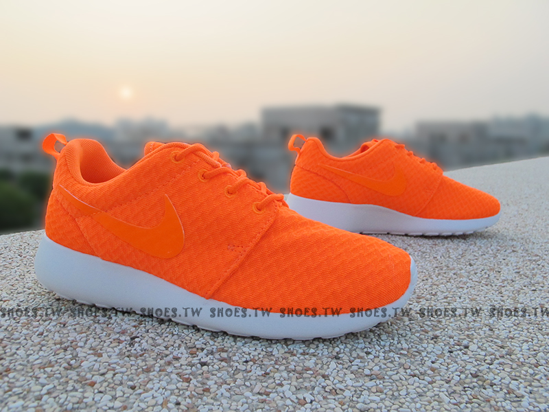 Shoestw【511882-881】NIKE WMNS ROSHE ONE ROSHERUN 橘色 女款