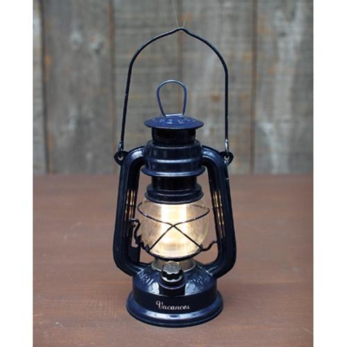 日本原裝 LED復古造型露營燈/夜燈/LED燈(藏青色)
