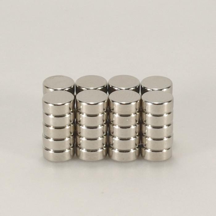 強力磁鐵釹鐵硼 圓直徑0.5公分*厚0.2公分 40個