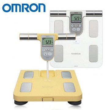 HBF-370 歐姆龍體重體脂計 體脂肪計(白色/黃色) HBF370