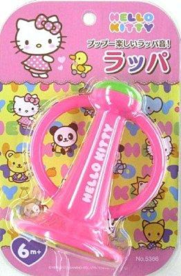【真愛日本】13122100025 幼兒玩具-吹樂喇叭 三麗鷗 Hello Kitty 凱蒂貓 初學玩具 兒童玩具 正品