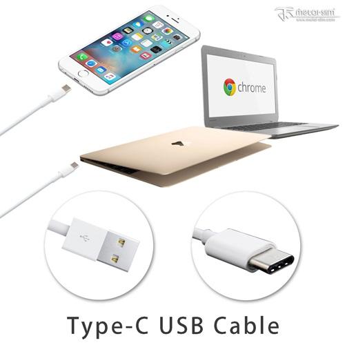 Metal-Slim Type-C USB 高速傳輸充電線 手機 平板 1米長 ZenPad HTC 10 小米 MacBook
