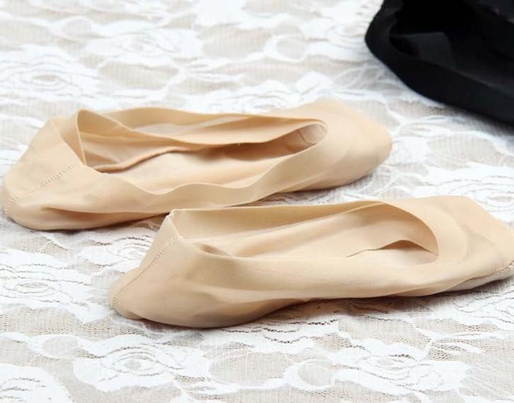 滿700再折$100 [熱帶雨林]日韓coolM~ax冰?棉底無痕魚嘴隱形襪硅膠防滑底船襪/隱形襪 - 御聖願