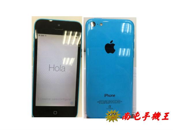 ↑南屯手機王↓APPLE IPHONE 5C~藍色16G中古機 【宅配~免運費】