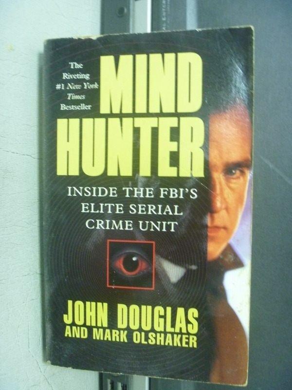 【書寶二手書T5/原文小說_KPP】Mind Hunter_John Douglas