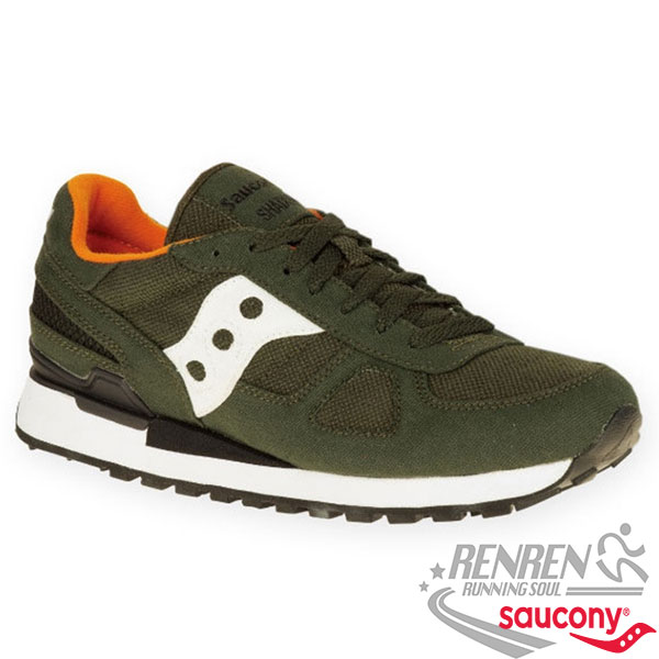 SAUCONY  SHADOW ORIGINAL VEGAN 男復古鞋 (綠)
