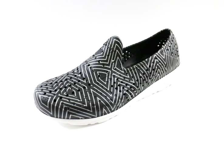 [陽光樂活] PONY ? GOGO鞋 雨鞋 防水透氣 水陸兩棲鞋  情侶鞋  - 62U1SA61BK (黑)