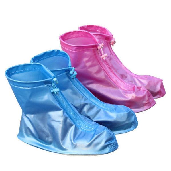 PS Mall 雨天剋星 加厚全方位防滑耐磨男女款防水鞋套 雨鞋【J1321】