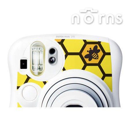 NORNS 【Honey Yellow】MINI25 專用FUJIFILM日本富士原廠拍立得相機機身貼紙