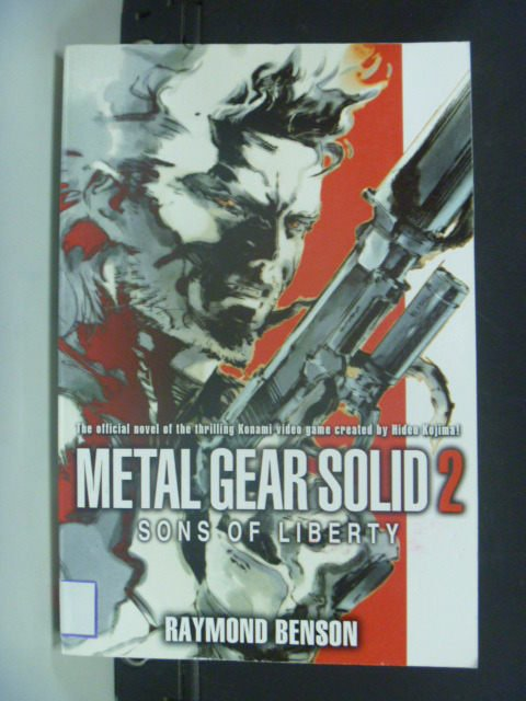 【書寶二手書T7/原文小說_MIP】Metal Gear Solid 2: Sons of_Benson