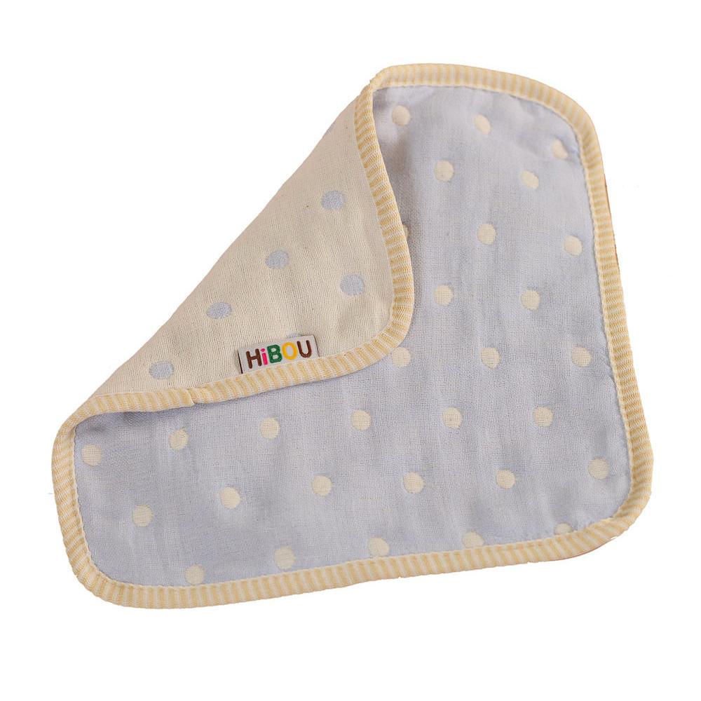 HiBOU-六重紗-萬用小手帕(潔淨紫)