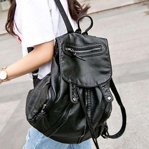 (現貨 附發票)後背包-現貨販售-時尚鉚釘多口袋後背包包-BB6812-寶來小舖