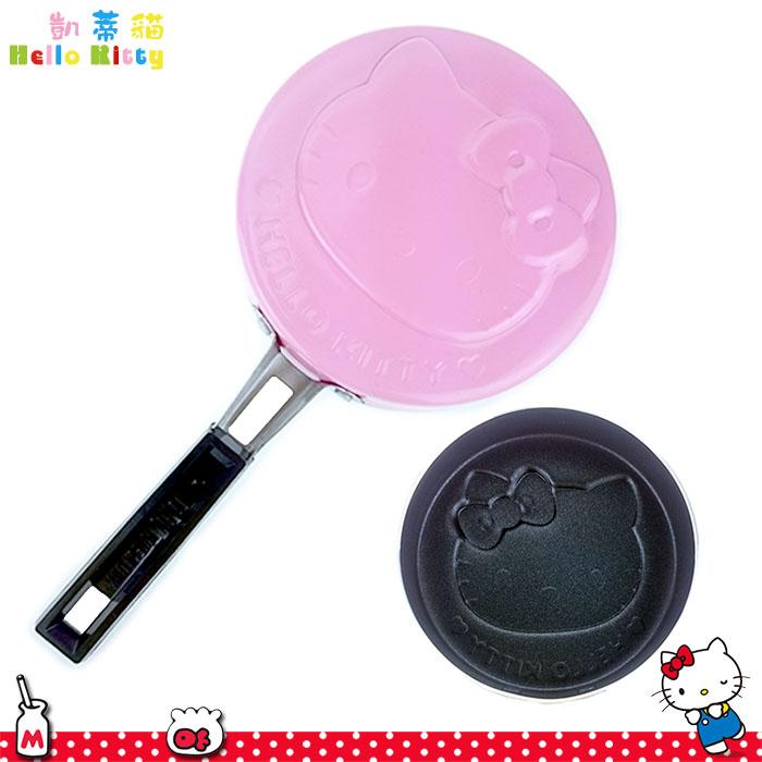 大田倉 日本進口正版 三麗鷗 HELLO KITTY 凱蒂貓大臉 鬆餅烤盤 烤餅 銅鑼燒 景品 011755