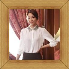 襯衫 OL長袖制服-修身休閒俏麗時尚女上衣3色53d14【韓國進口】【米蘭精品】