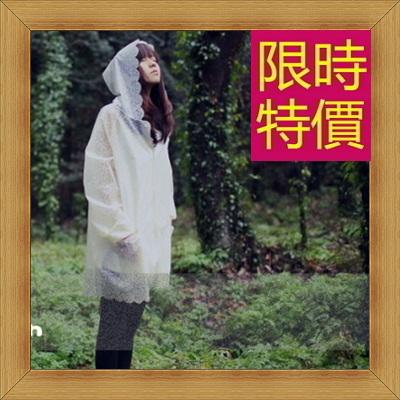 雨衣 女雨具-時尚輕薄防風機能日系女斗篷式雨衣1色55m6【日本進口】【米蘭精品】
