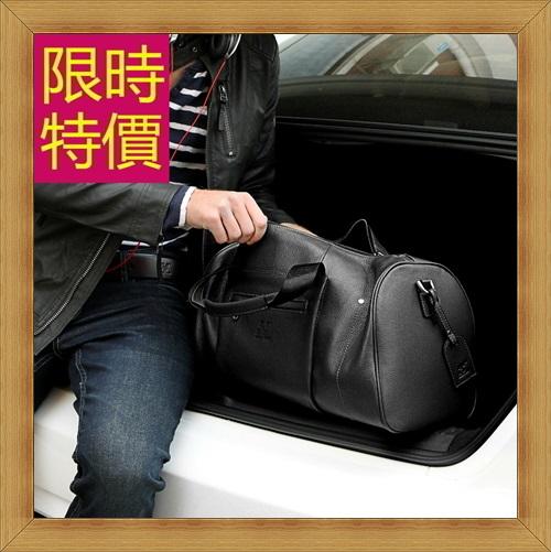 旅行袋 男手提包-商務旅行出差肩背真皮男行李袋2色59c18【義大利進口】【米蘭精品】