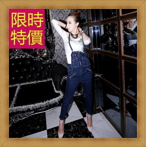 吊帶褲 休閒褲-修身休閒俏麗時尚女褲子1色59g4【韓國進口】【米蘭精品】