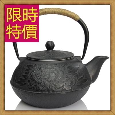 日本鐵壺 茶壺-鑄鐵泡茶品茗南部鐵器水壺老鐵壺1款61i6【日本進口】【米蘭精品】