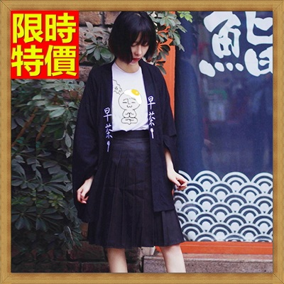 和服外套 和風女罩衫-清涼夏季日式浴衣防曬小外套68af3【日本進口】【米蘭精品】