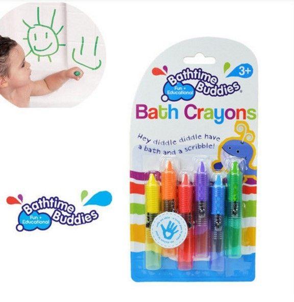 EMMA商城~原裝正版baby 兒童安全畫筆.劃哪裡都擦的掉的食品無毒色蠟筆