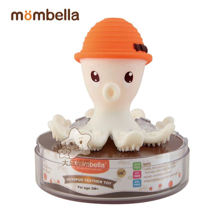 【大成婦嬰】Mombella 樂咬咬立體章魚固齒器 (隨機出貨) 全新 公司貨 咬咬樂 玩具 固齒器