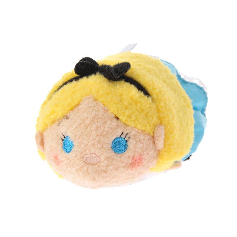 【真愛日本】16082200012 專賣店限定tsum娃S-愛麗絲2   迪士尼 愛麗絲夢遊仙境  疊疊樂  手玉娃娃
