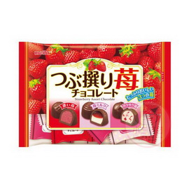 meito名糖三種類草莓巧克力 160g