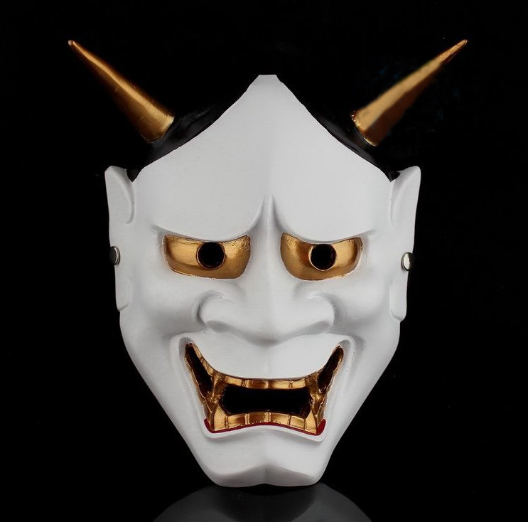 =優生活=日本佛教鬼首般若面具 樹脂 珍藏版 蘭陵王