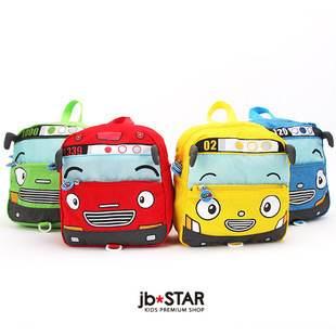 =優生活=韓國tayo小巴士 汽車書包 寶寶房走失包 兒童雙肩背包 汽車造型後背包