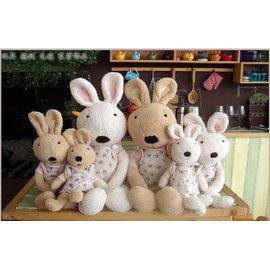 =優生活=日本正品 le sucre 砂糖兔 法國兔娃娃 滿月禮物 結婚禮物 情人節禮物 披風碎花款 30公分