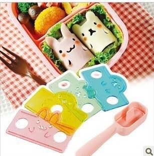 =優生活=日本arnest 小動物飯捲模具 飯團 手捲壽司模具 小熊 海豹 小兔 小鴨 廚房DIY 親子DIY