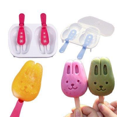 =優生活=創意卡通小兔子冰棒模具 DIY自製雪糕冰棒 冰模具 冰格 冰棒盒